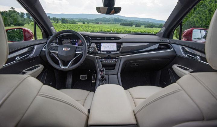 2020 Cadillac XT6 Dashboard