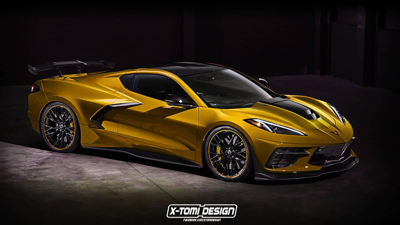 Chevrolet Corvette ZR1 Rendering