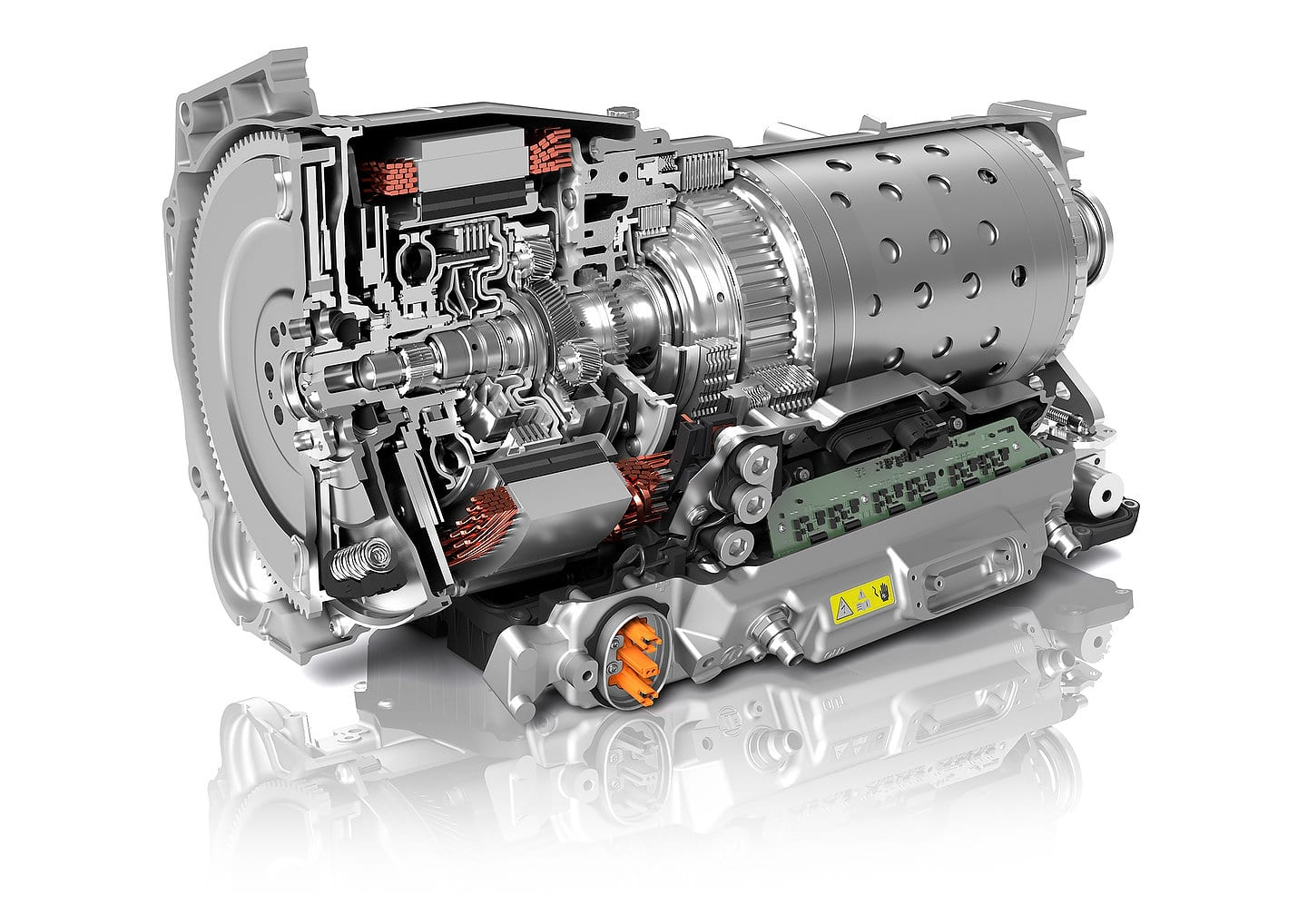 ZF New 8-Speed Automatic Transmission (8HP)