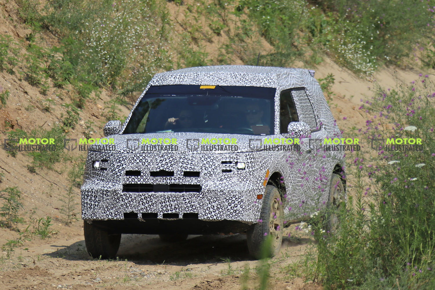 Baby Bronco Ford Adventurer Spy Shots