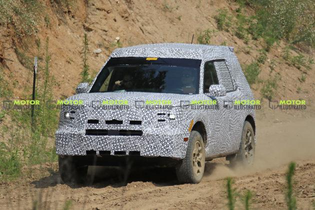 Baby Bronco/Ford Adventurer Spy Shots
