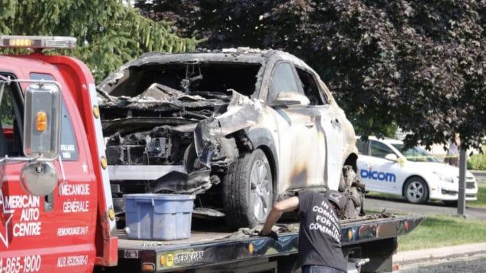 Hyundai Kona explodes montreal