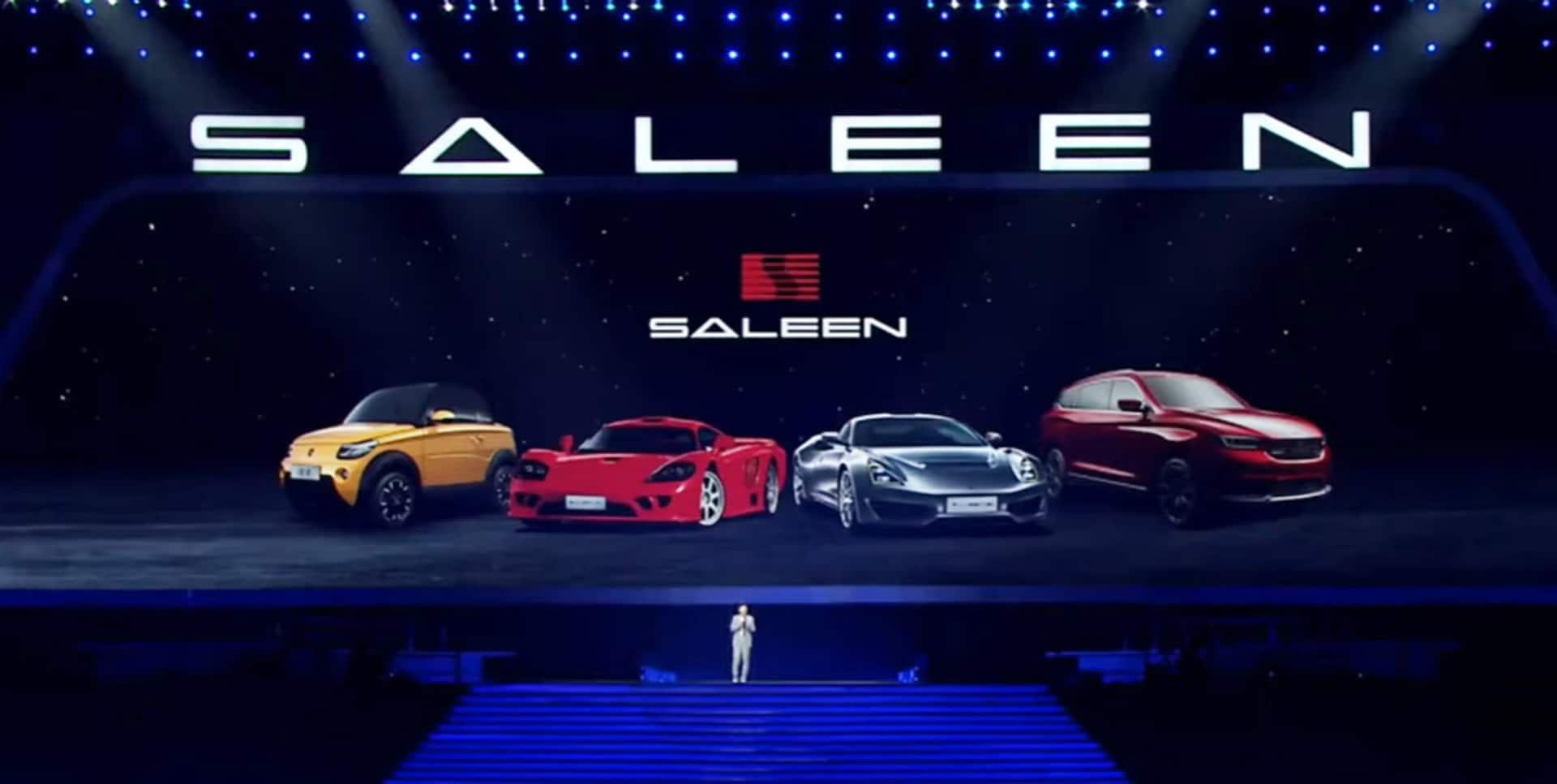 Saleen lineup unveil