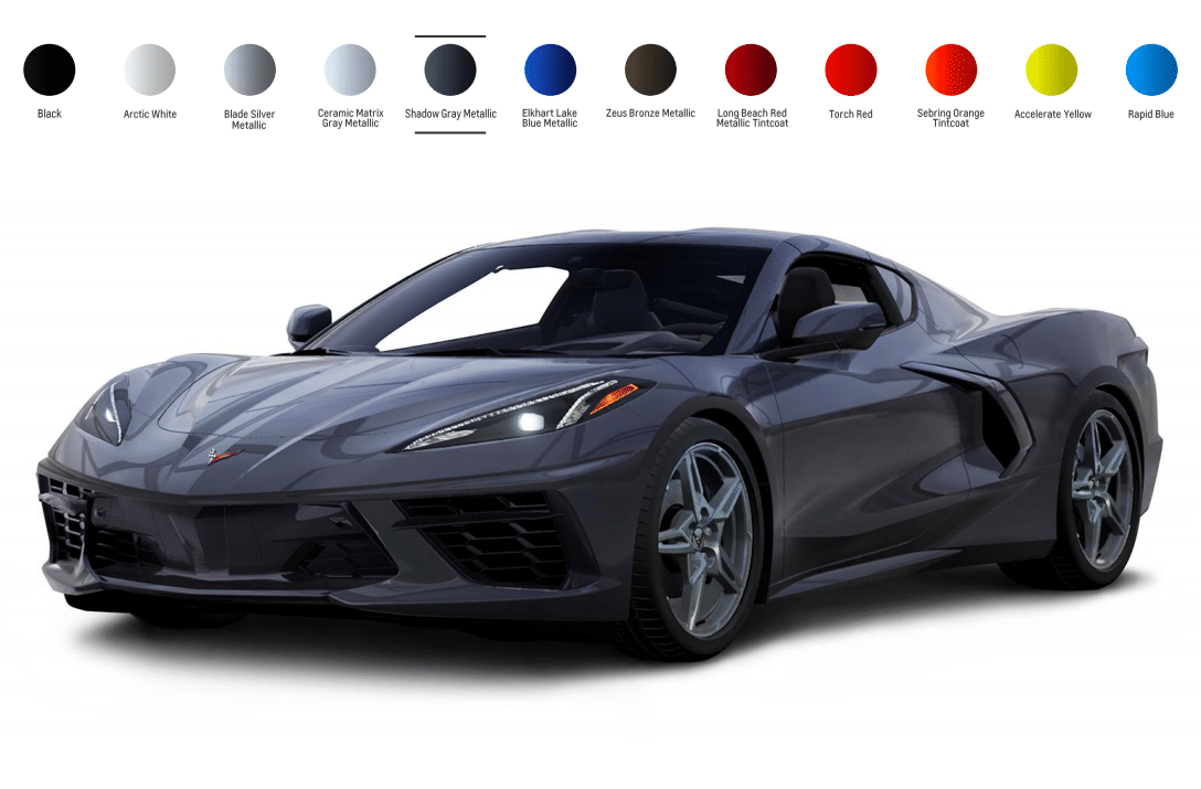 The 12 Chevy Corvette C8 Colors Motor Illustrated