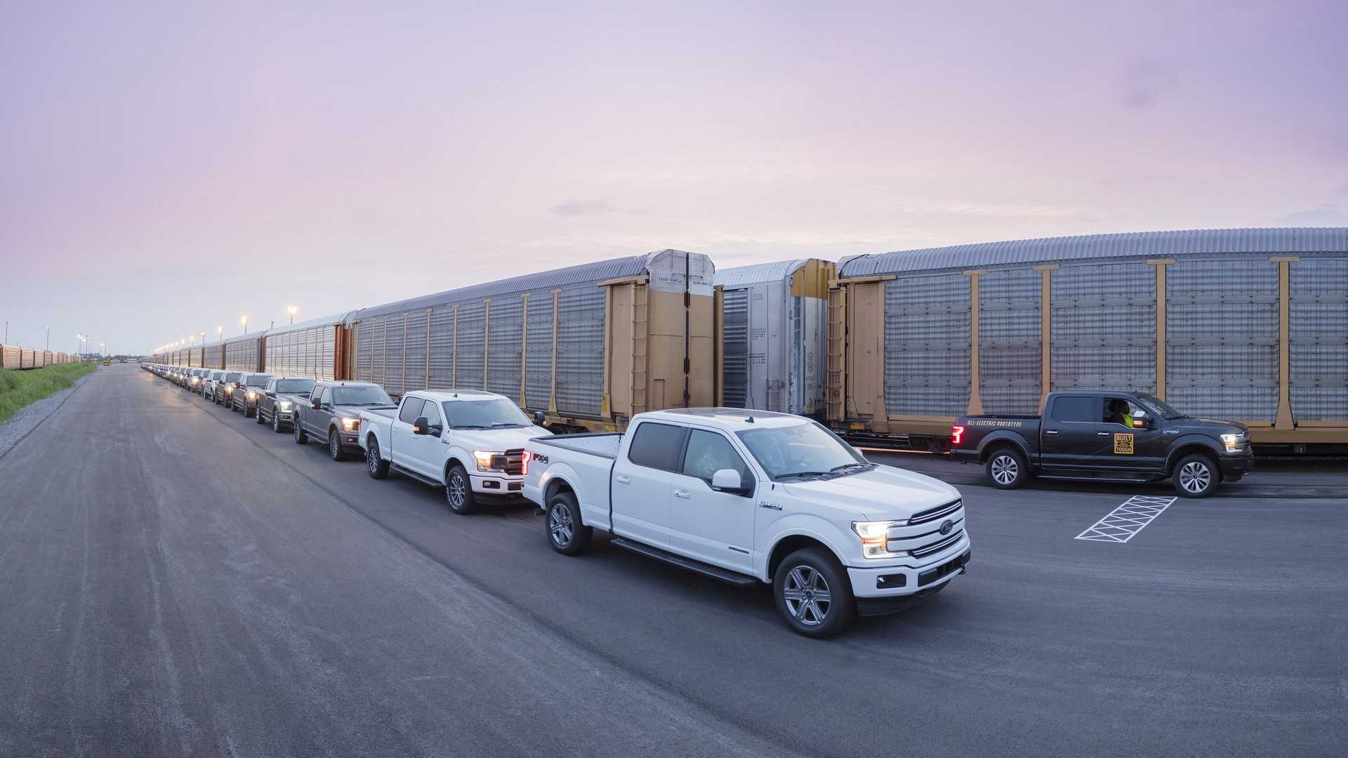 All-electric Ford F-150