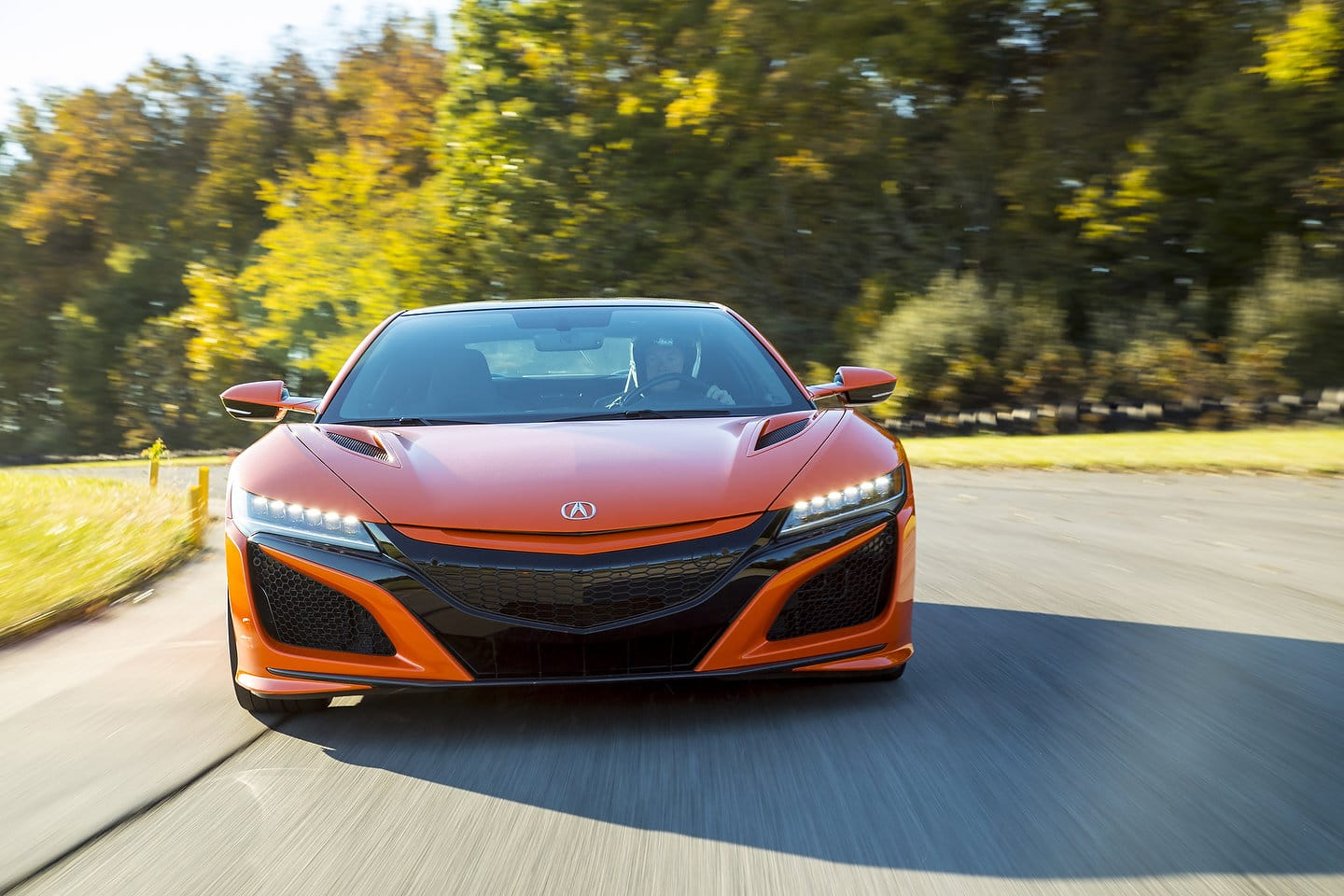 2019 Acura NSX front