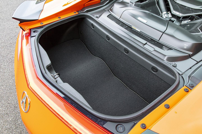 2019 Acura NSX trunk