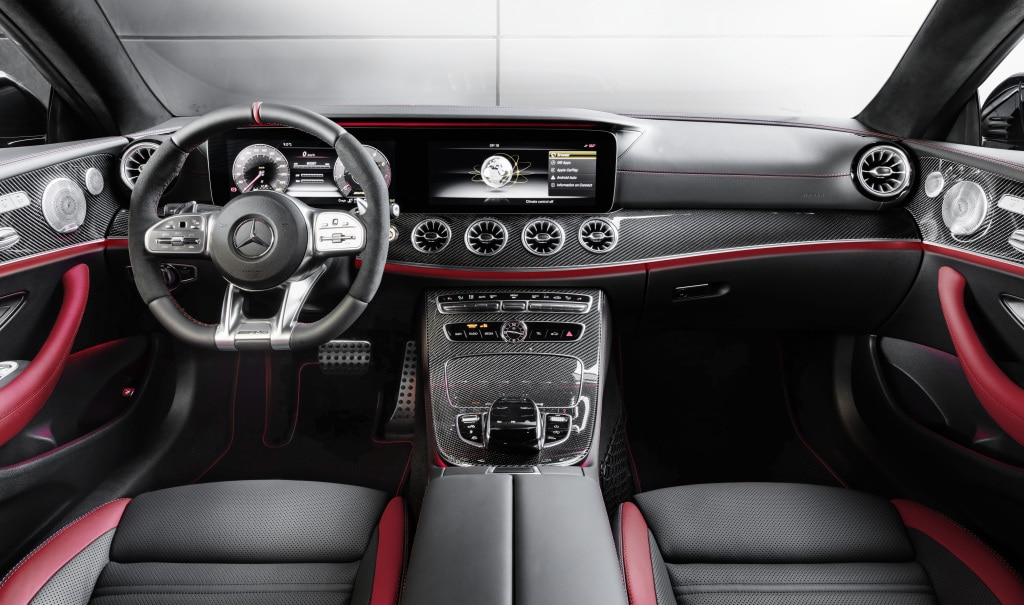 2019 Mercedes-AMG E 53 Coupe 4Matic+ Interior