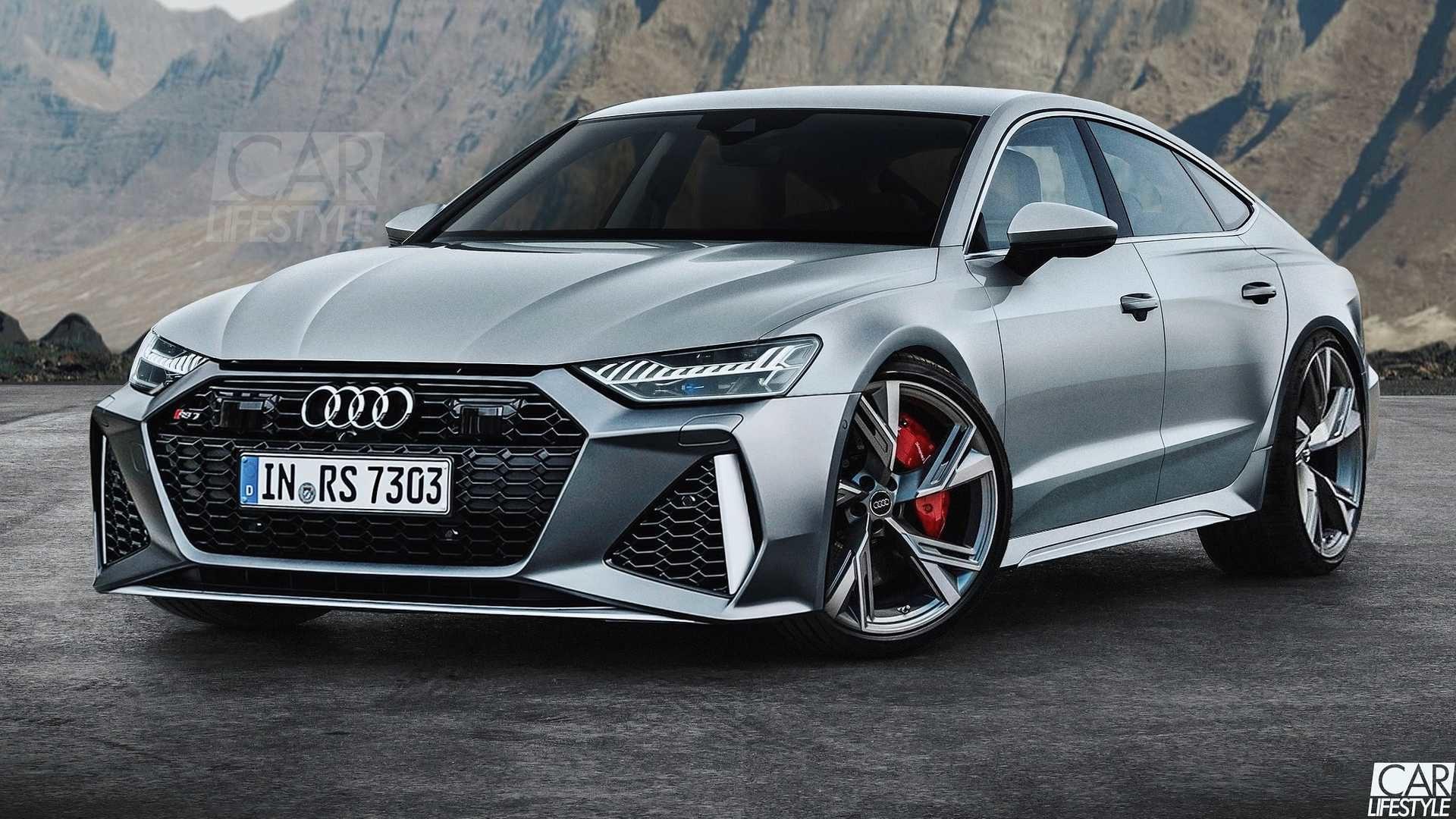 Audi RS7 rendering