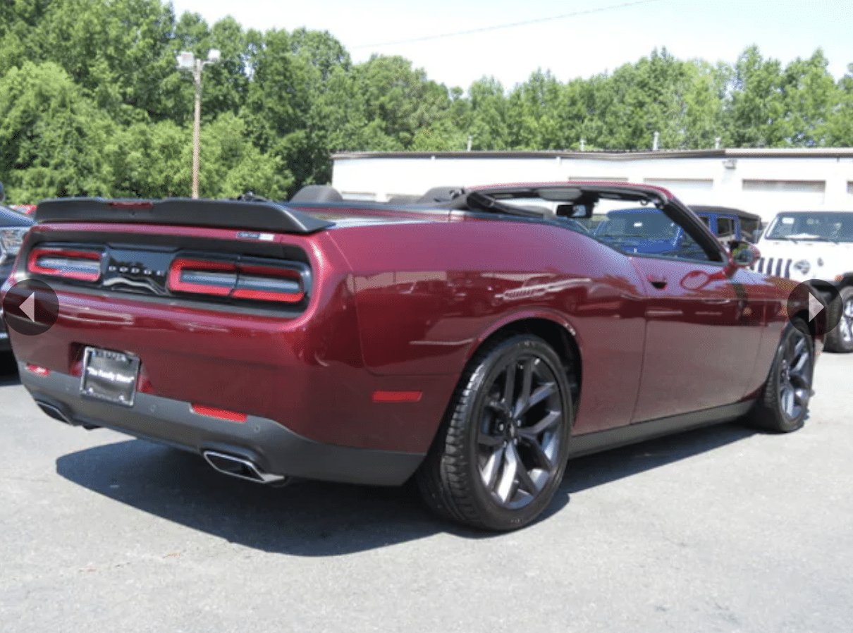 Dodge Challenger Convertible >> The Dodge Challenger Convertible Exists Motor Illustrated