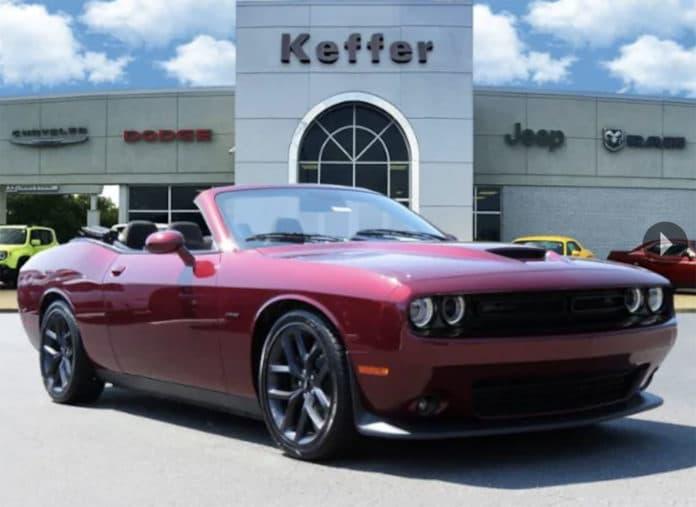 Dodge Challenger Convertible