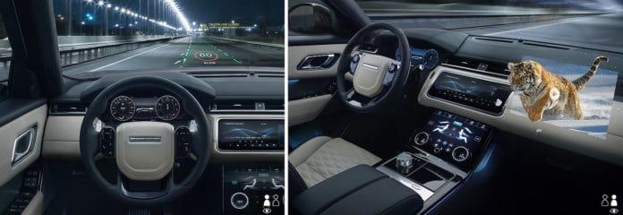Jaguar Land Rover 3D displays