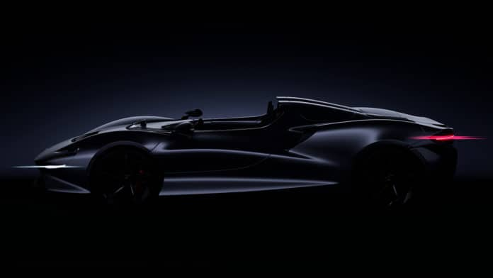 McLaren New Ultimate Series Model Roadster Pebble Beach 2019