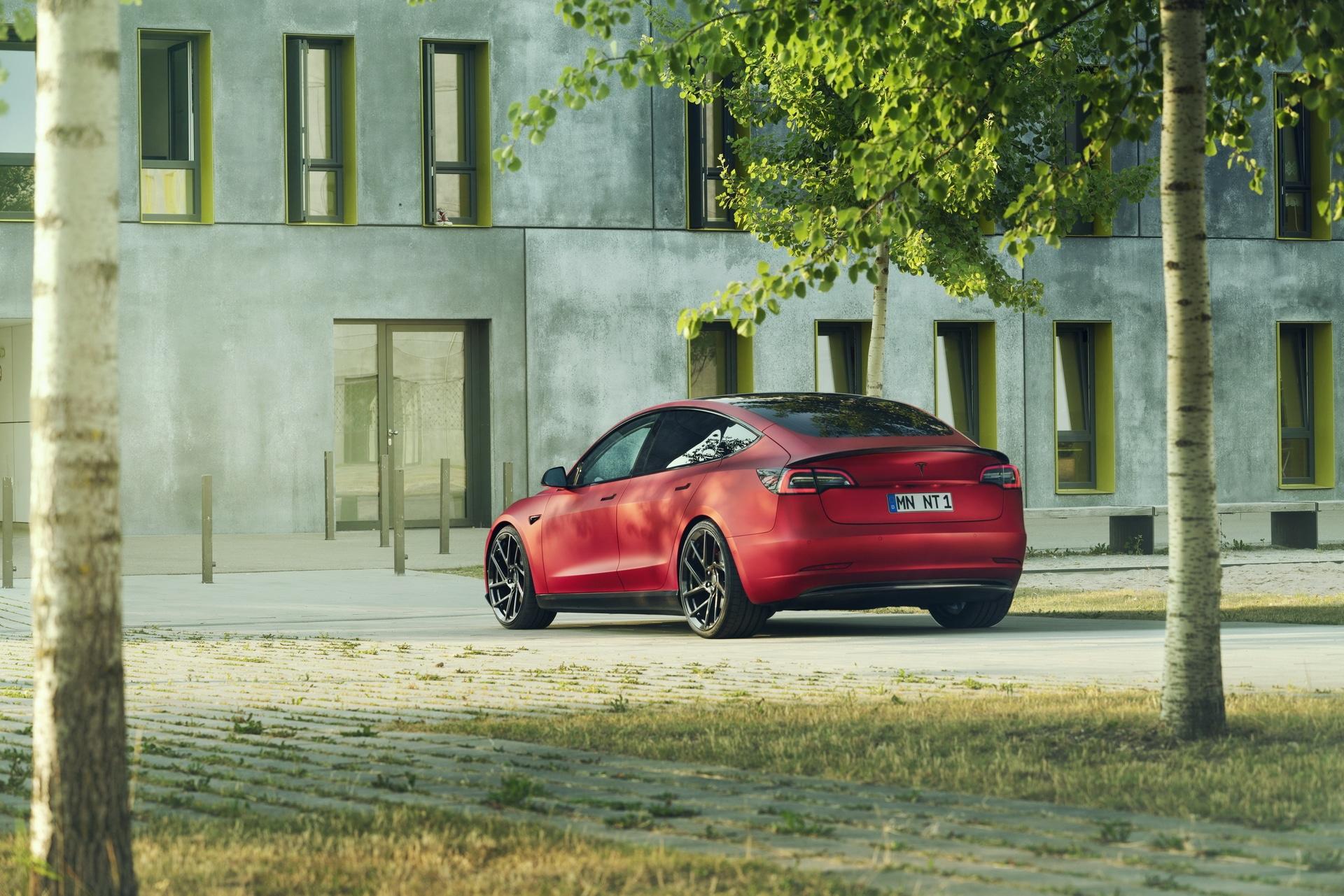 Novitec Unveils Tesla Model 3 Tuning Package - Motor Illustrated