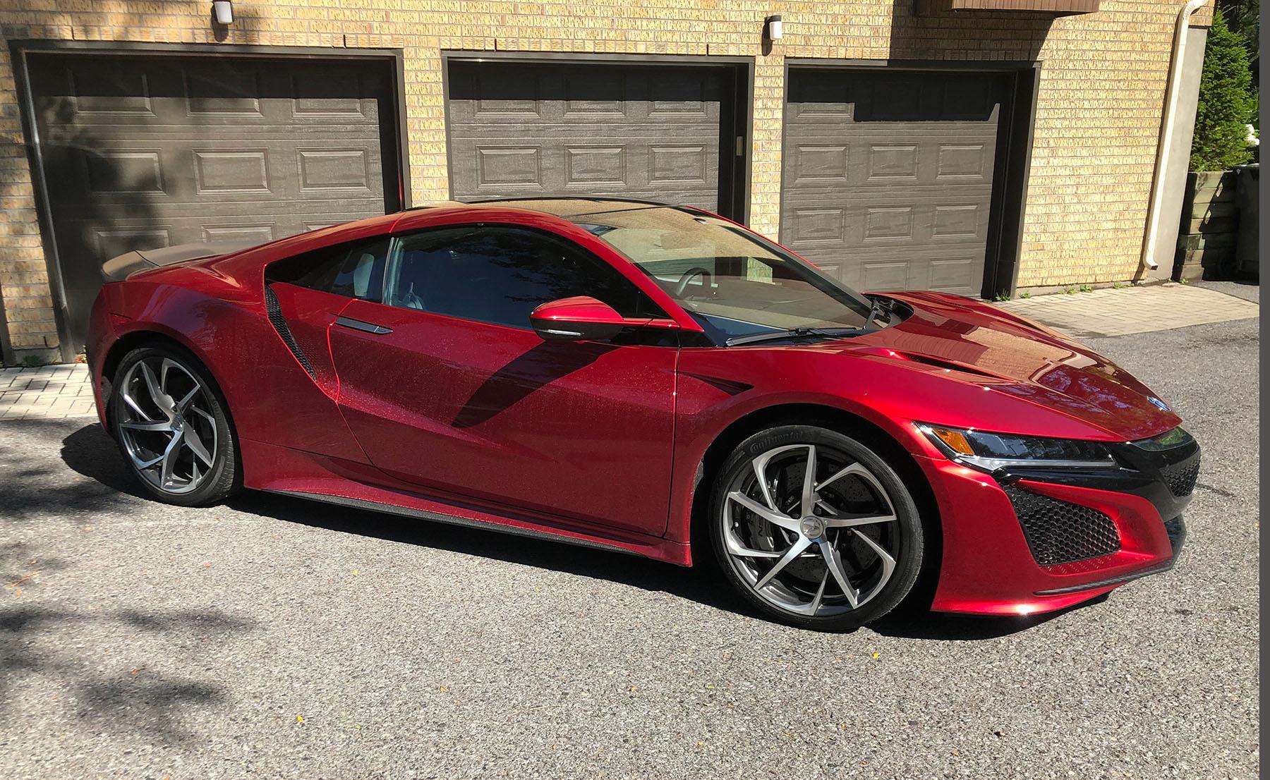2018 Acura NSX main image