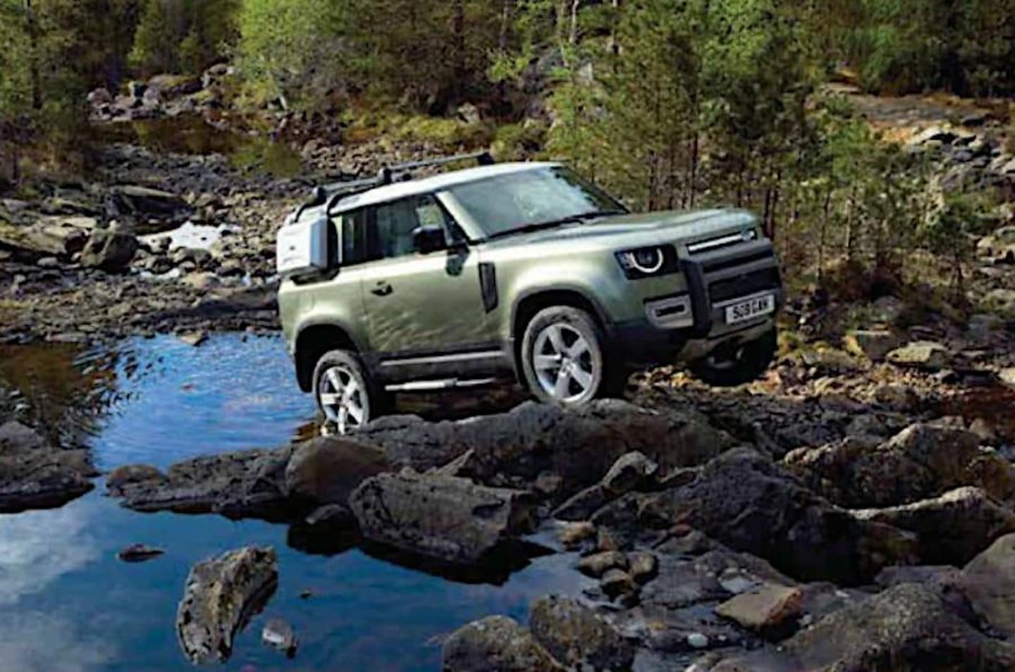 2020 Land Rover Defender Leaked Picture