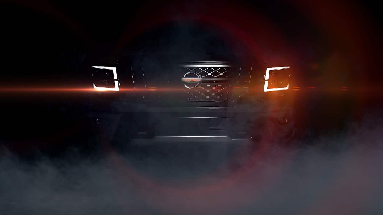 2020 Nissan TITAN teaser