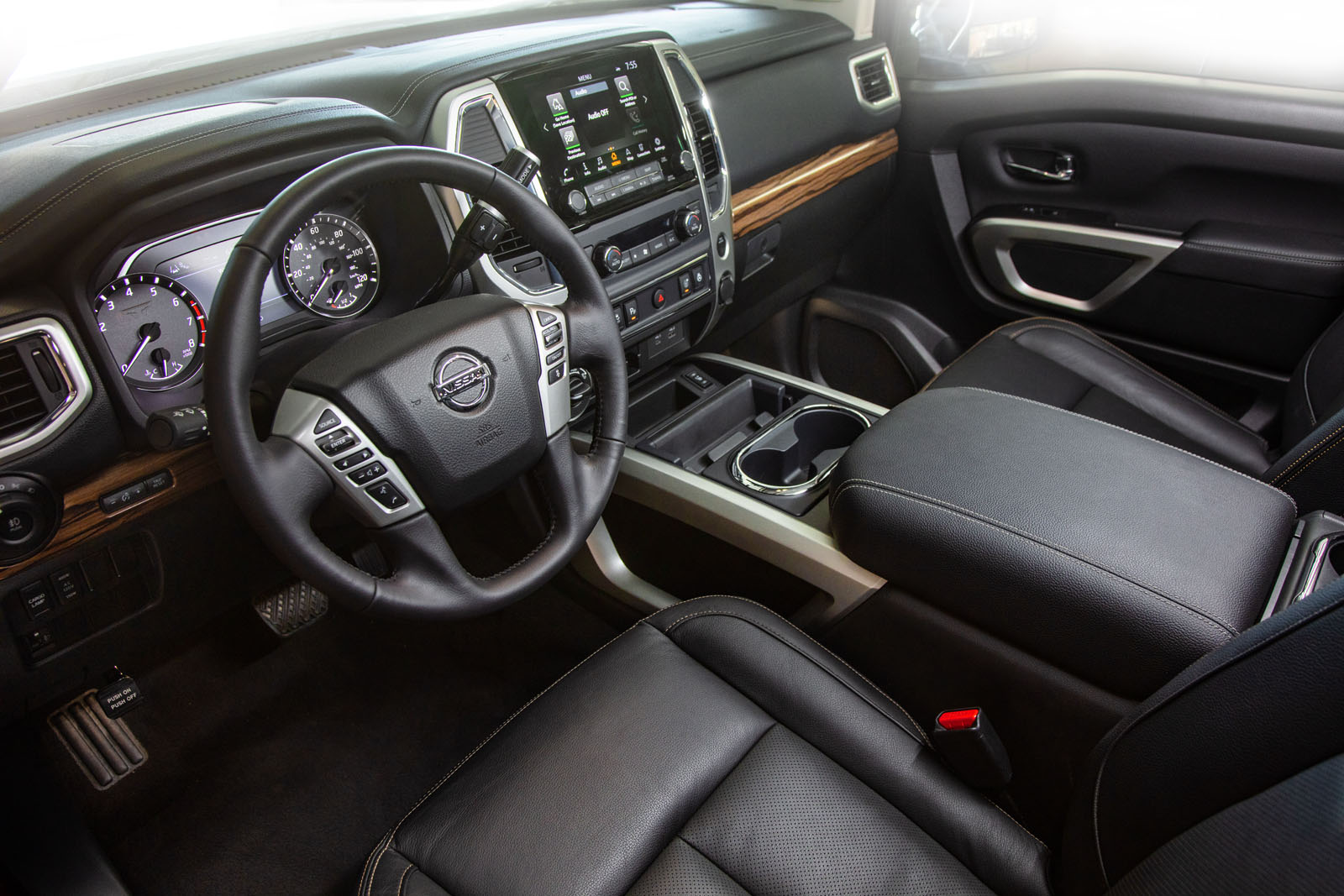 2020 Nissan Titan Redesigned Interior
