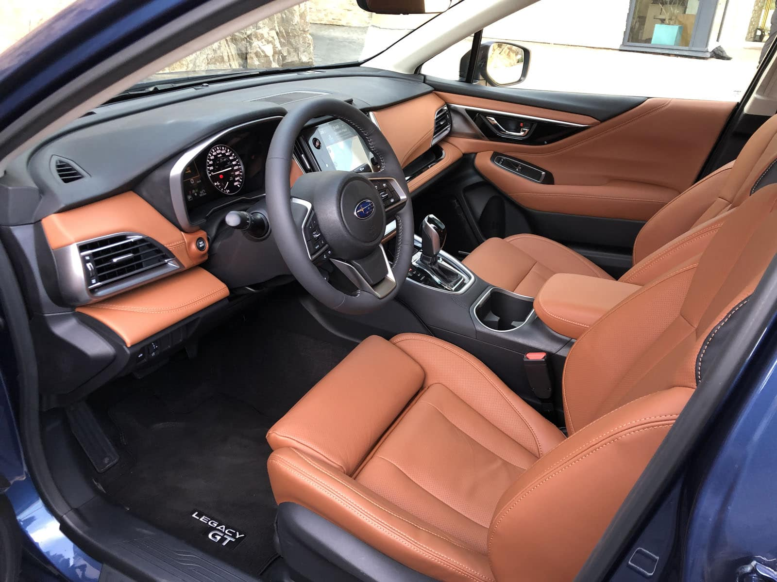 2020 Subaru Legacy First Drive Interior