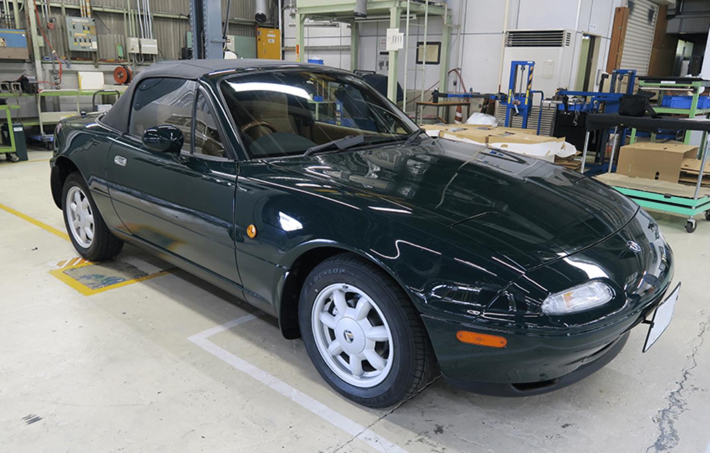 Restored Mazda NA Miata