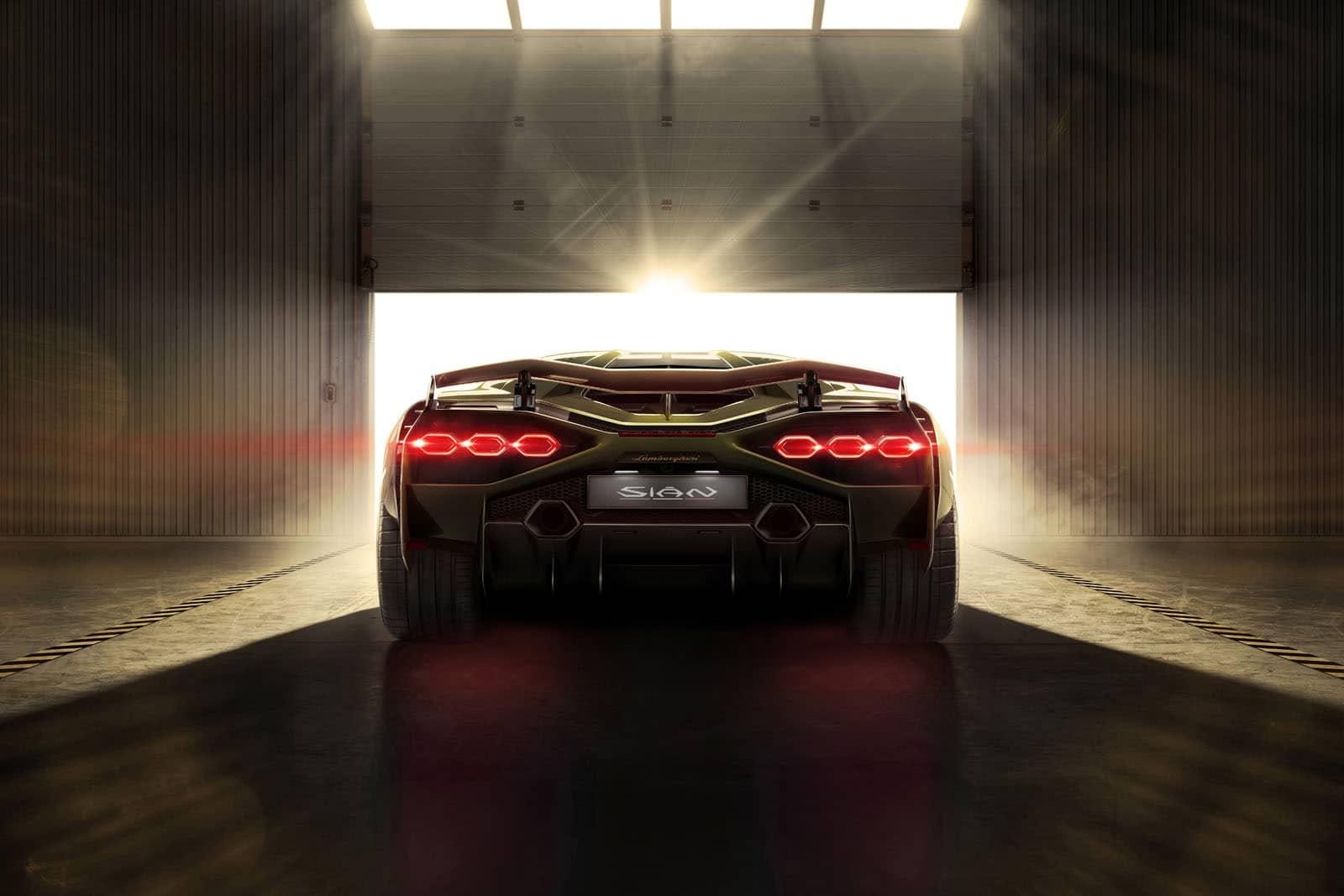 Lamborghini Sian hybrid supercar