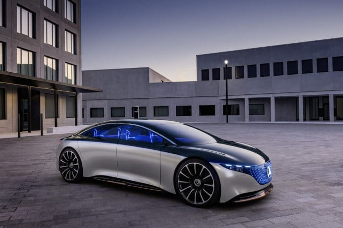 Mercedes-Benz Vision EQS