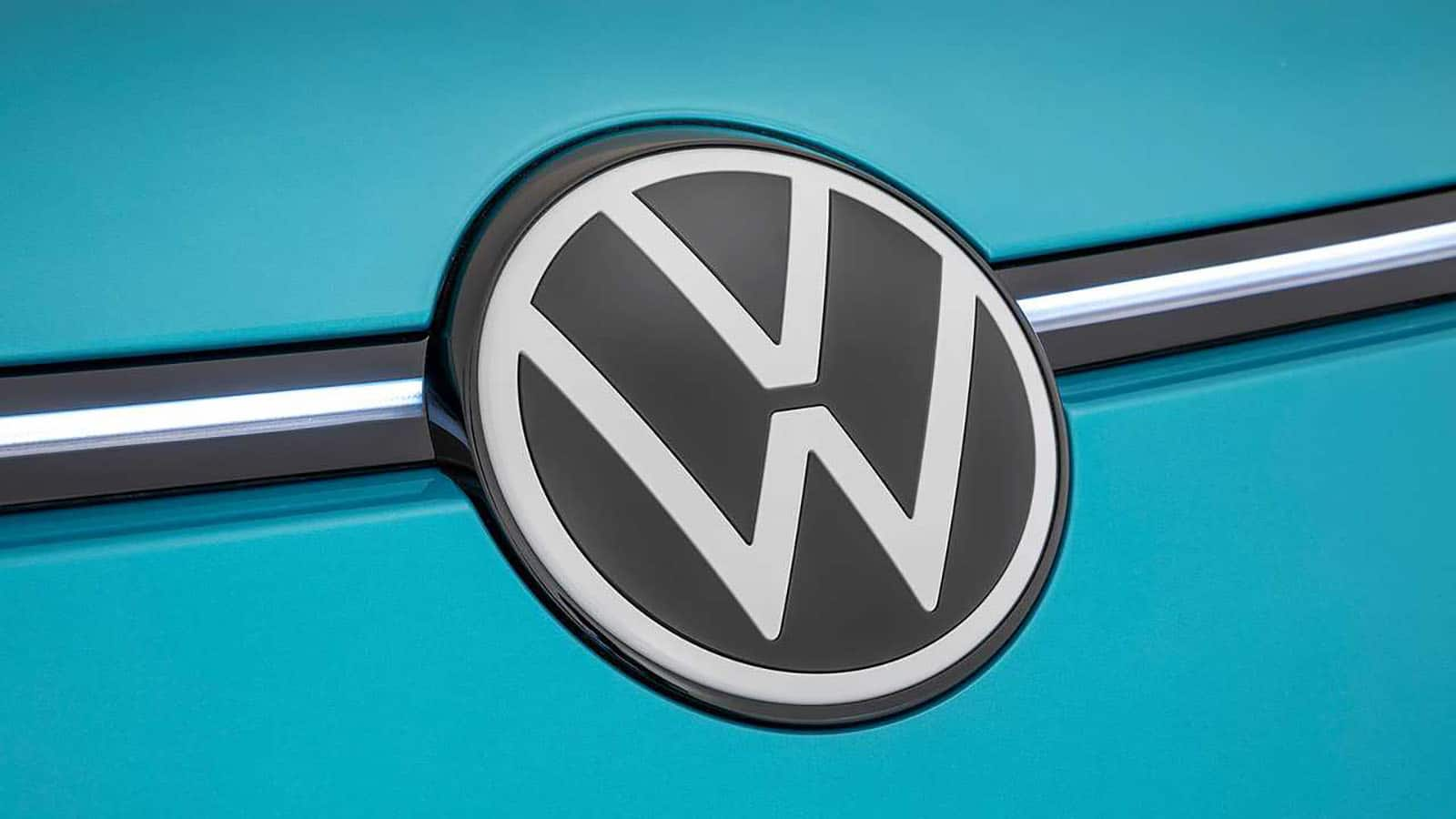 New Volkswagen Logo Unveiled Marking A New Electric Era At Vw Motor Illustrated