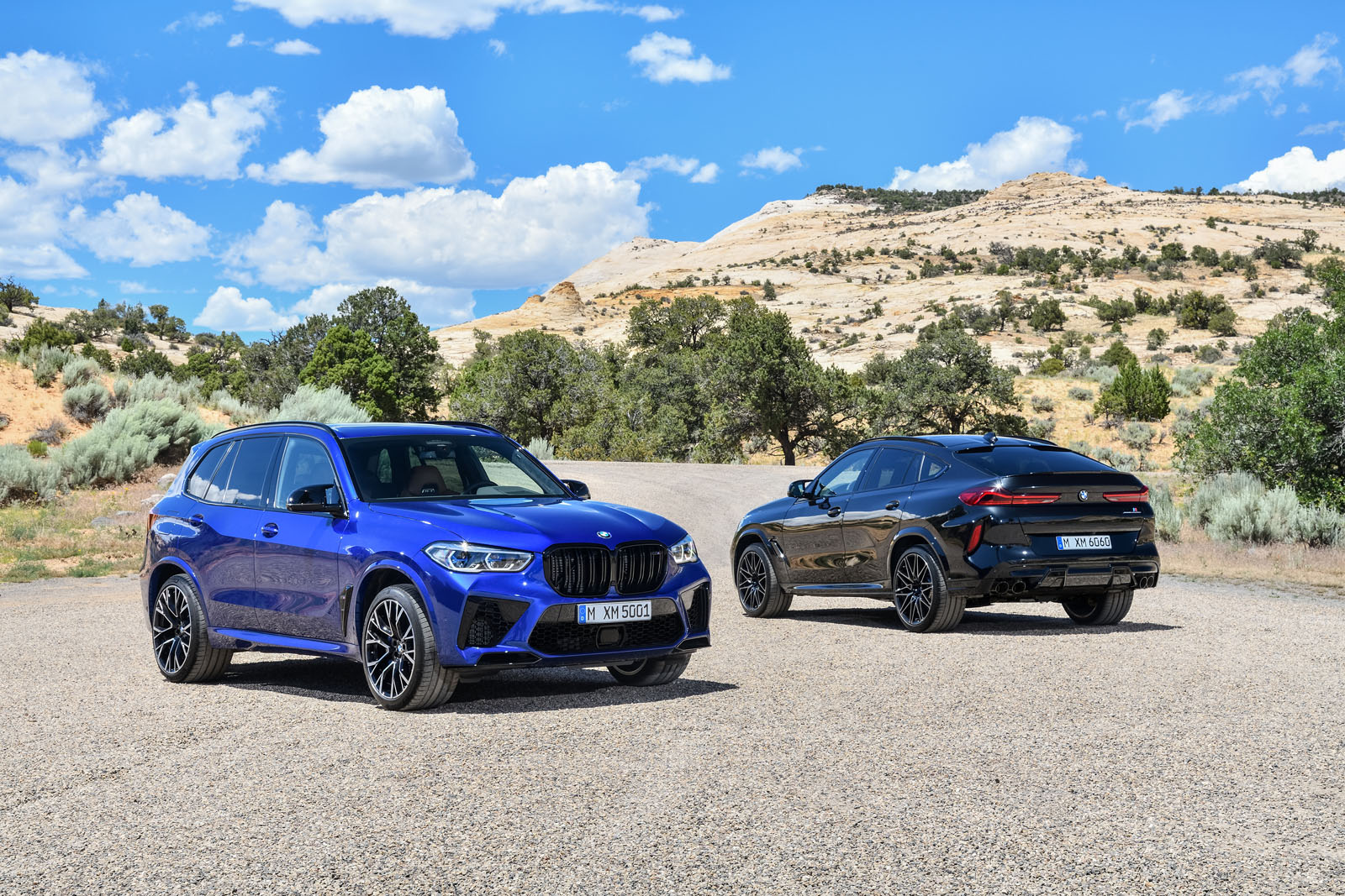 2020 BMW X5M and 2020 BMW X6M