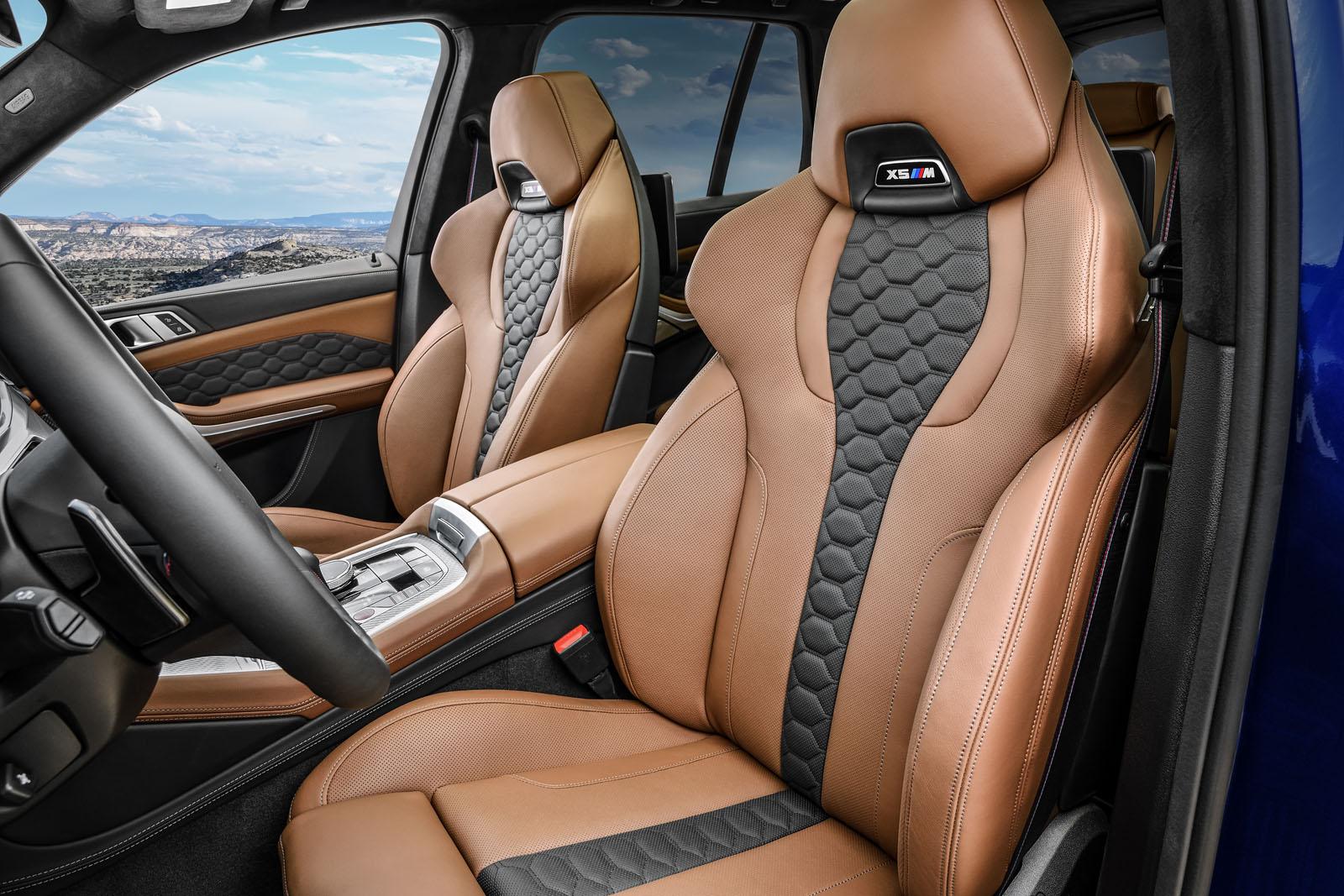 BMW X5 M seats