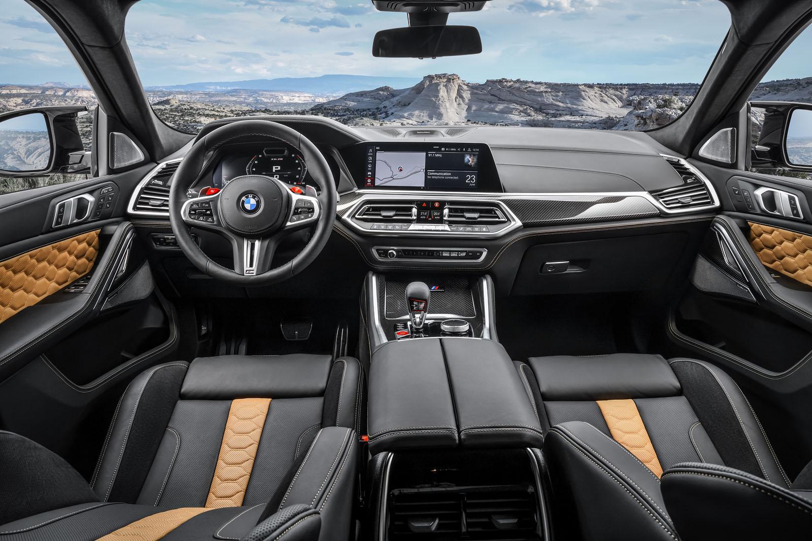 2020 BMW X6M Interior