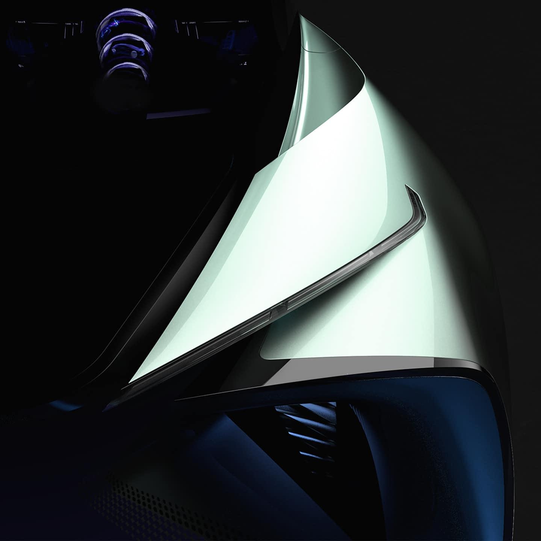 2020 Lexus Battery Electric Vehicle Concept
