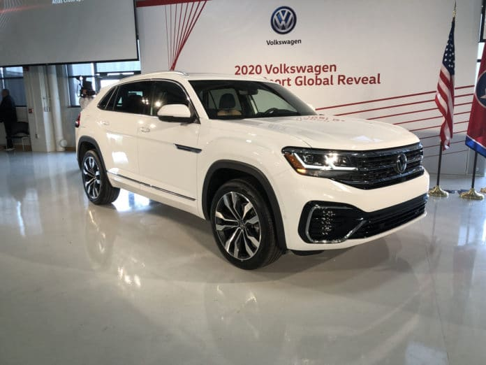 2020 Volkswagen Atlas Sport Cross