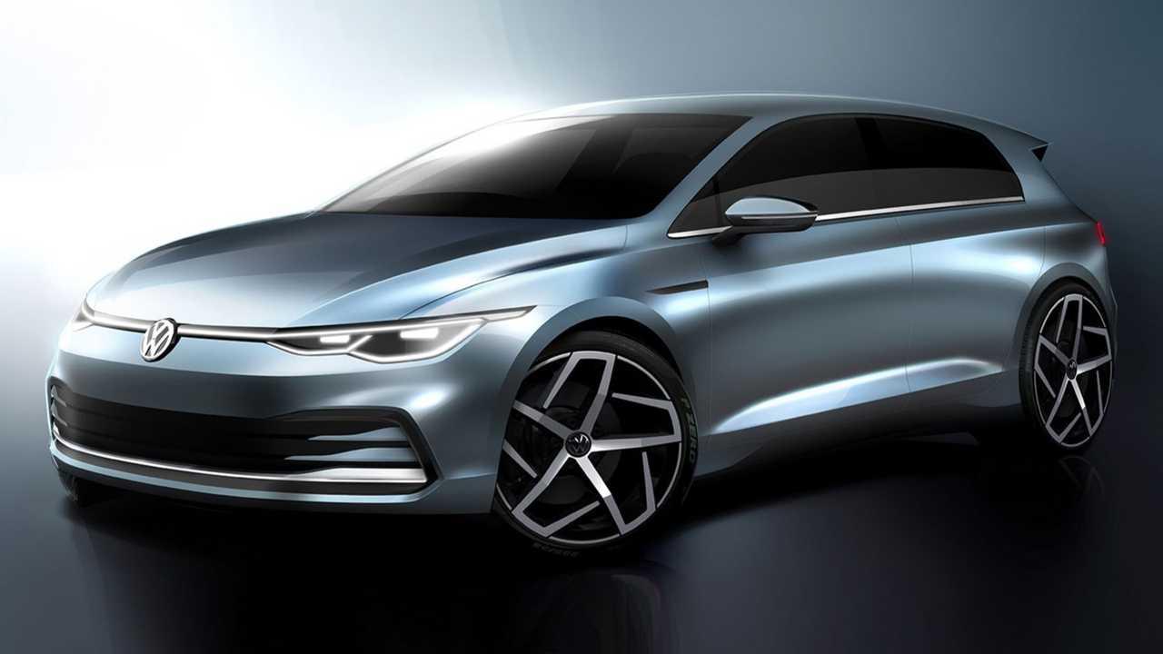 2020 Volkswagen Golf teaser