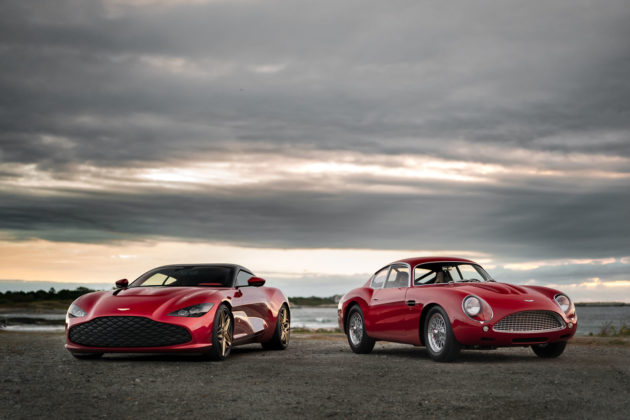 Aston Martin DBS GT Zagato and DB4 GT Zagato