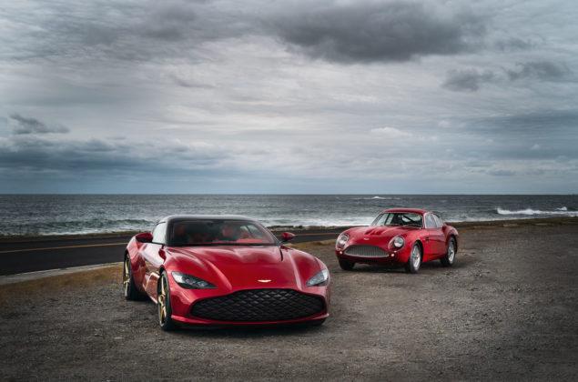 Aston Martin DBS GT Zagato and DB4 GT Zagato