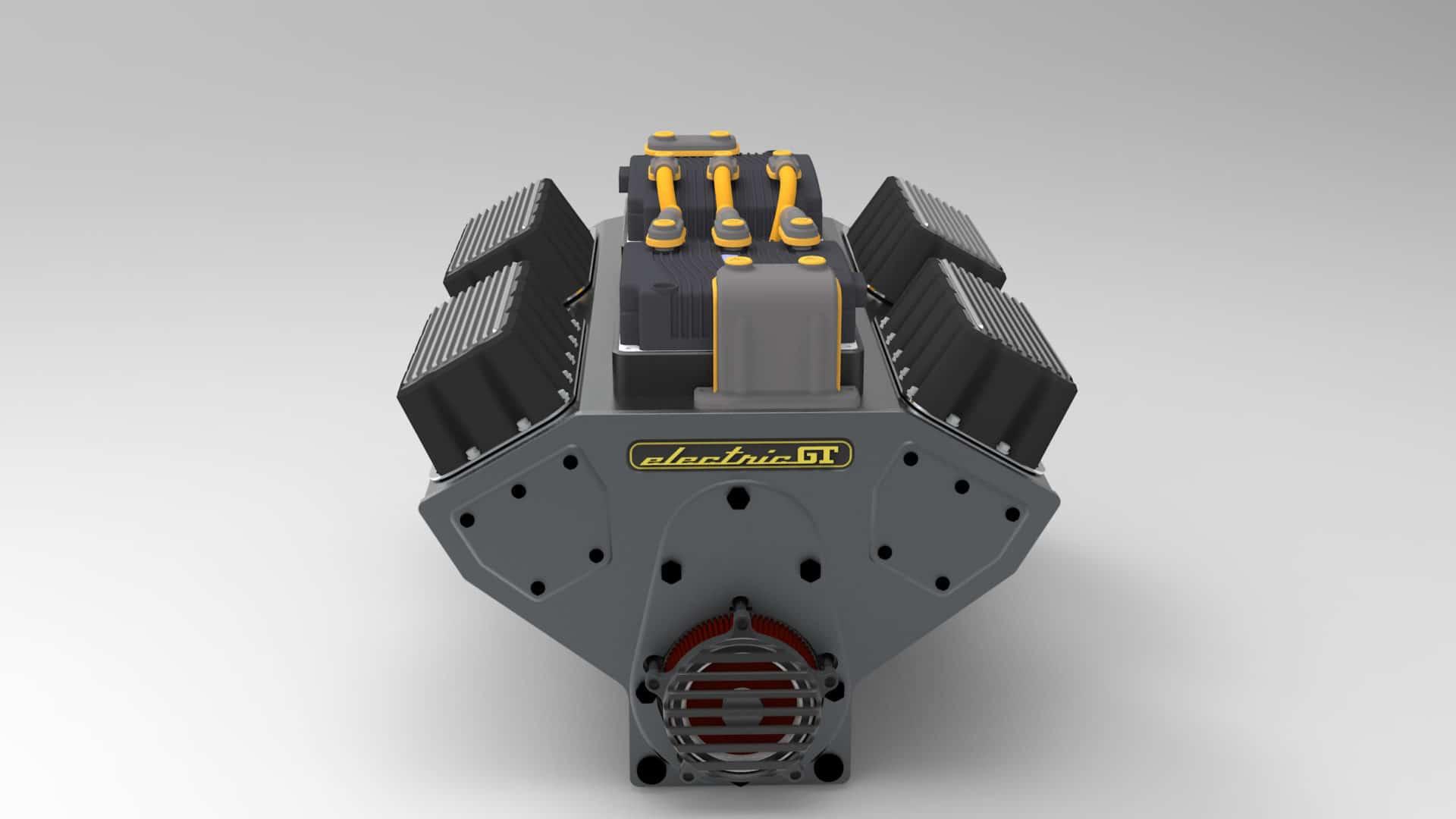 Electric GT create electric motor