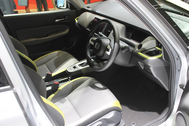 Honda Fit interior Tokyo