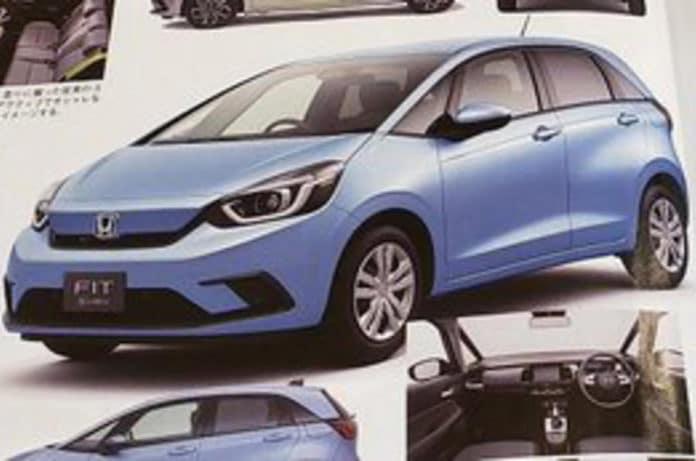 Honda Fit leaked image