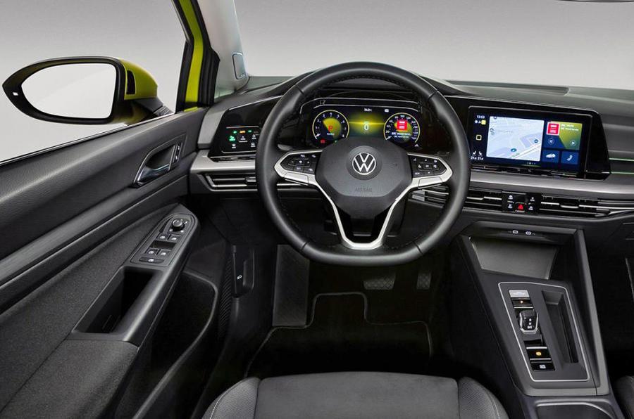 VW Golf 8 leak