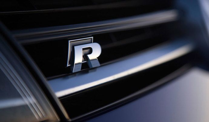 Volkswagen Golf R old logo