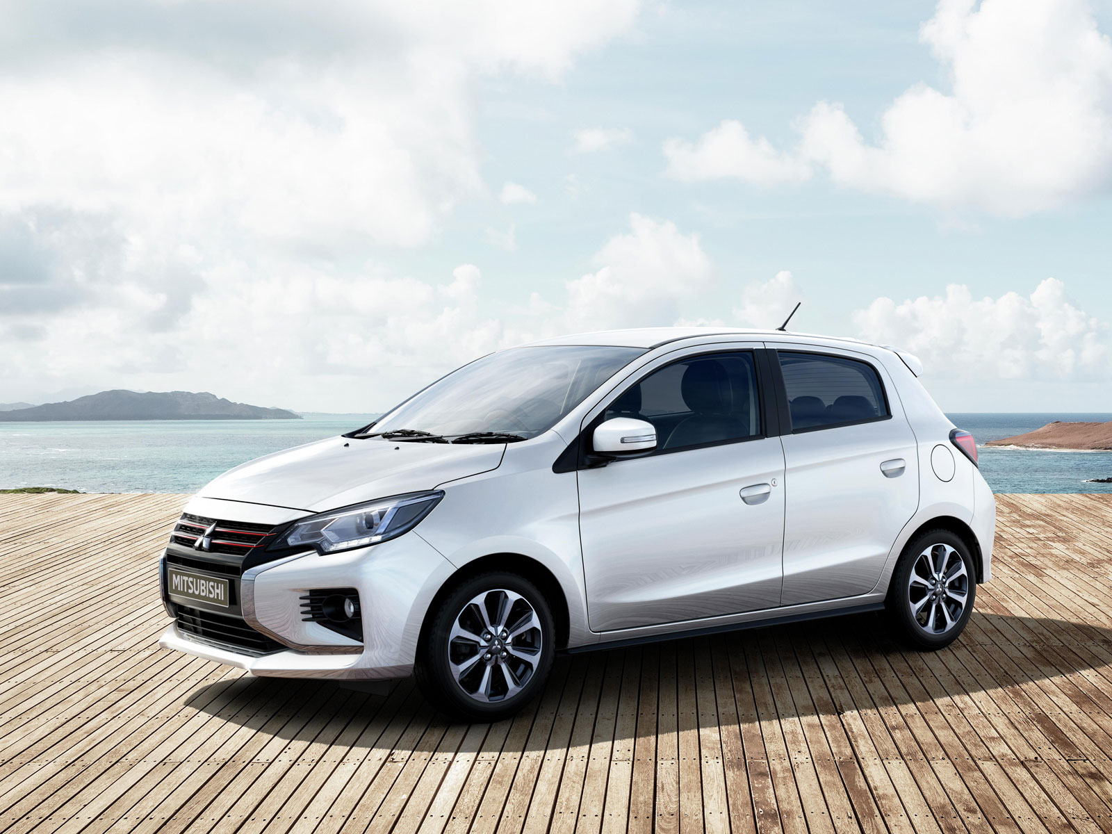 2021 mitsubishi mirage unveiled in montreal with slight