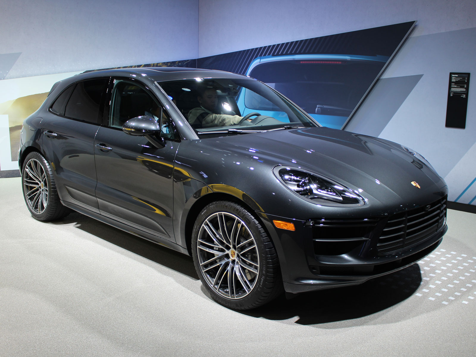434 Hp 2020 Porsche Macan Turbo Shown In L A Motor Illustrated