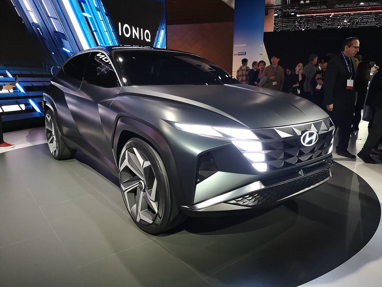 Hyundai Unveils Vision T Concept In Los Angeles Motor