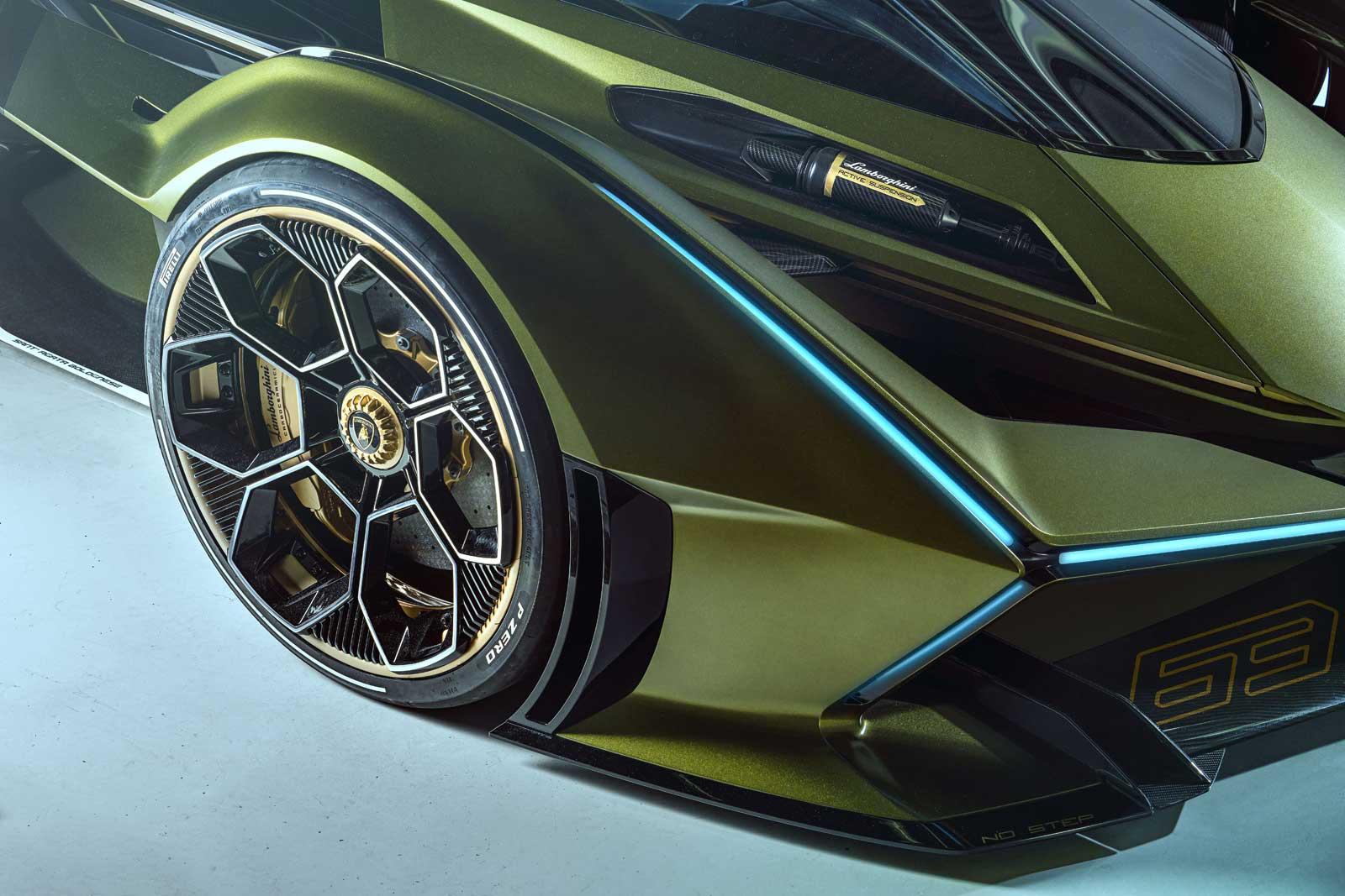 Lamborghini Lambo V12 Vision Gran Turismo Revealed - Motor ...