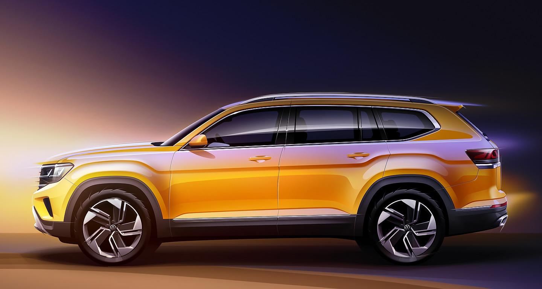 2021 Volkswagen Atlas Sketches