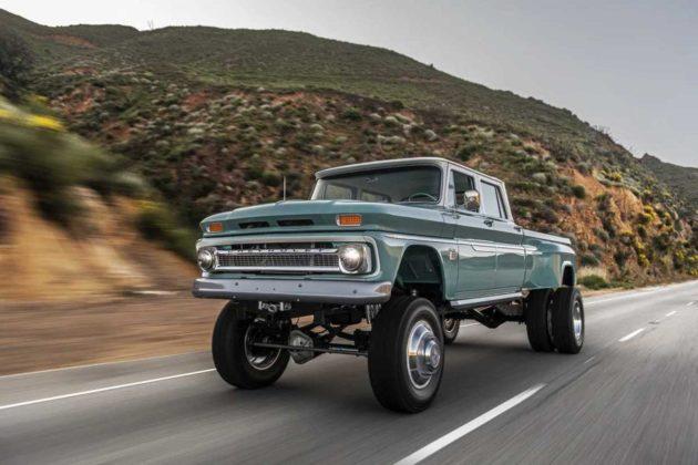 The Ponderosa restomod pickup truck