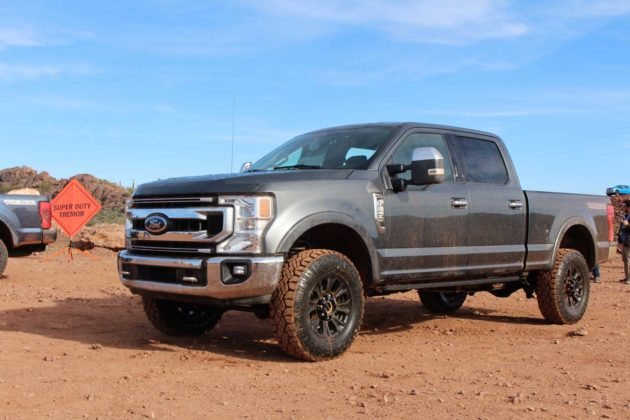 F 150 Tremor >> Watch the 2020 Ford Super Duty Tremor in Action - Motor ...