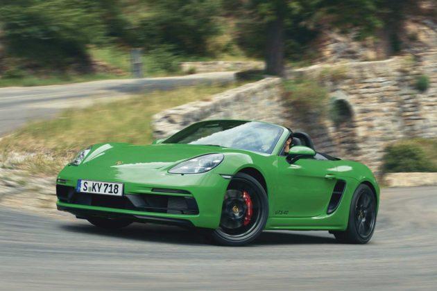 2021 Porsche 718 GTS 4.0