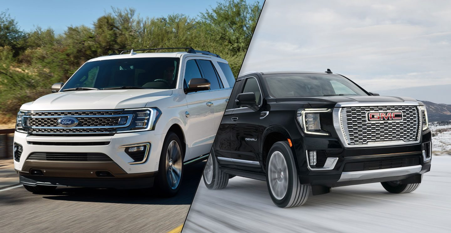 2020 Ford Expedition Vs 2021 Gmc Yukon Spec Comparison Motor Illustrated
