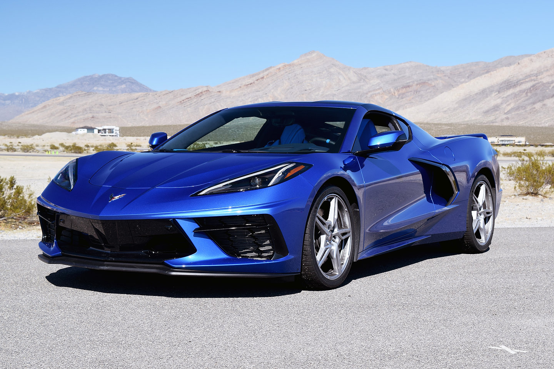 2020 Chevrolet Corvette Stingray First Drive Review Las Vegas